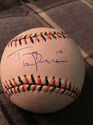 Tony Larussa Signed 2005 All Star Game Baseball Cardinals Hall Of Fame Autograph