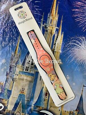 Disney Parks Tinker Bell Coral Magic Band MagicBand New