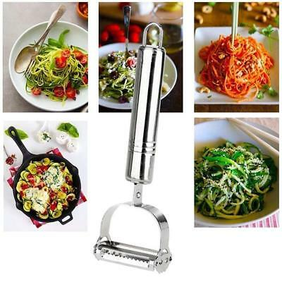 Stainless Steel Vegetable Fruit Peel Julienne Slice Carrot Potato Cutter Tool GL