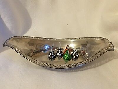 Webster Sterling Silver Serving Dish Tray Bowl 166 Grams No Mono Beautiful