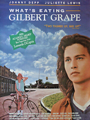 WHAT'S EATING GILBERT GRAPE movie poster
