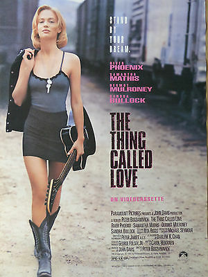 River Phoenix THE THING CALLED LOVE poster
