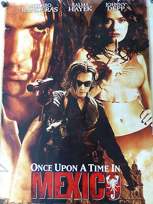 ONCE UPON A TIME IN MEXICO - Salma Hayek movie poster