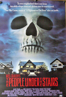 WES CRAVEN People Under the Stairs movie poster