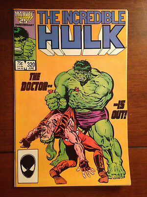 Incredible Hulk # 320 Fine+ Marvel Comics John Byrne Doc Samson
