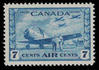Canada 1943 7¢ Airmail Mint Never Hinged