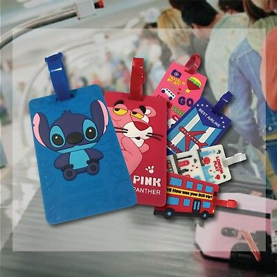 1 / 2 / 10Pcs Set Travel Luggage Tags Suitcase Label Name Address ID Bag Taggies