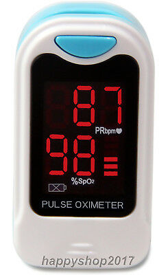 Finger Tip Pulse Oximeter SPO2 Heart Rate Monitor US Seller For Health Care FDA