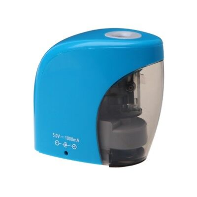 Electric Auto Pencil Sharpener Battery/USB Powered for Graphite Colored Pencils