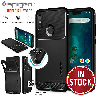 pretty nice 7321c 72e74 MI A2 LITE/REDMI 6 Pro Case, Genuine SPIGEN Rugged Armor Soft Cover for  Xiaomi