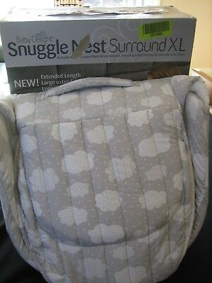 Baby Delight Snuggle Nest Surround Xl/ Removable Night Light & Soothing Sounds