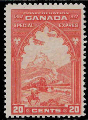 Canada 1927 20¢ Special Delivery Mint Never Hinged
