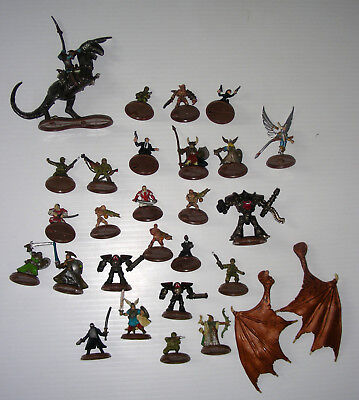 HEROSCAPE lot parts 27 figures + Lot of tiles Rise of the valkyrie