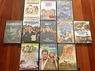 Lot of 11 NEW DVDs Factory Sealed Comedy Drama Great Titles - Wholesale Resell
