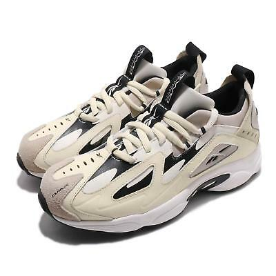 a1b994eaa05 Reebok DMX Series 1200 LT White Sand Chalk Black Men Running Daddy Shoes  DV9232