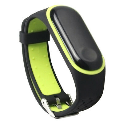Silicone Strap Replacement Wristband Bracelet For Xiaomi Mi Band 3 Good Quality