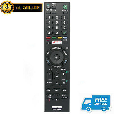 New RMT-TX100A Replacement Netflix TV Remote for Sony KD-55X9000C KD-65X9000C