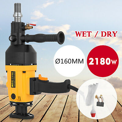 160MM Diamond Percussion Core Drill Wet & Dry Handhold Ceramic Variable GOOD