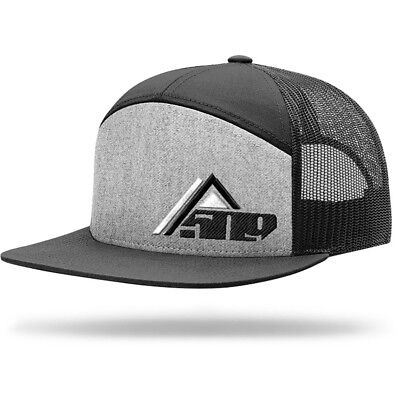 2019 509 Snowmobile ACCESS 7 Panel Gray Trucker Cap Hat  - Brand New