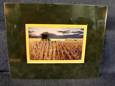 "Robert Hinton John Deere Combine Picture - Harvest Surprise - 8"" X 10"""