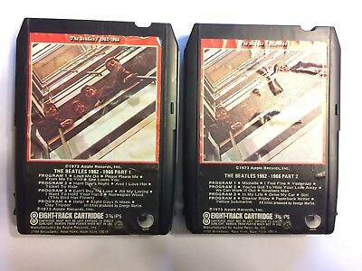 The Beatles  8 Track Tapes/ 1962 - 1966