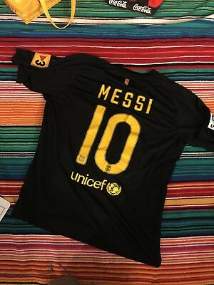 8dd4b720d1a Authentic Nike FC Barcelona Messi Soccer Jersey Size XL Extra Large