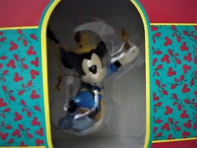 The Disney Artist Collection Brave Little Tailor Ornament Mickey Mouse Parks MIB