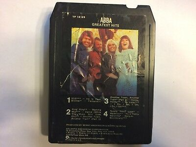 8 Track Tape  Abba  Greatest Hits