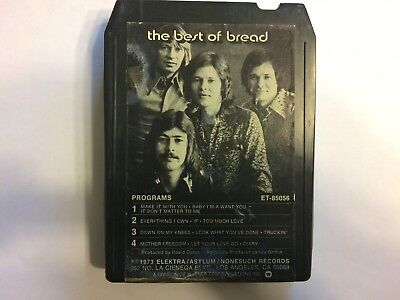 8 Track Tape  The Best Of Bread