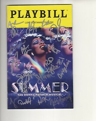 "DONNA SUMMER /""SUMMER FEVER/"" Hand Signed Limited Edition Lithograph DRIVEN MUSIC"