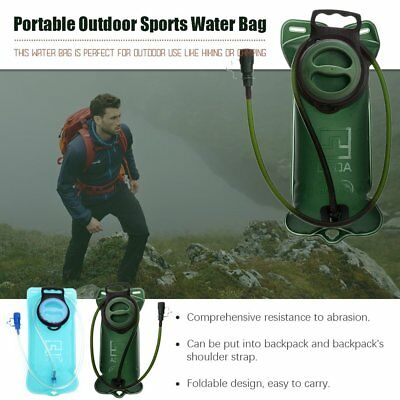 2L Water Bladder Bag Backpack Hydration System Camelbak Pack Camping Hiking RM