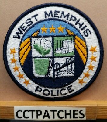 West Memphis, Arkansas Police Shoulder Patch Ar