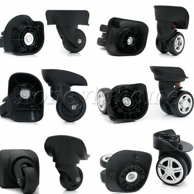 2pcs Luggage Suitcase Replacement Wheels Axles Deluxe Repair for Any Bags
