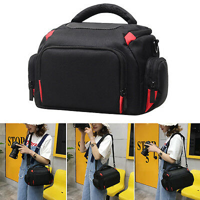 Digital Camera Backpack Bag Waterproof Case Cover SLR DSLR for Canon Nikon Top