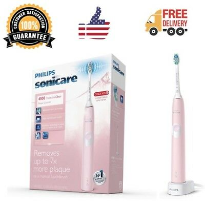 Philips Sonicare Protective Clean 4100 Girl Electric Toothbrush Pink NEW IN BOX