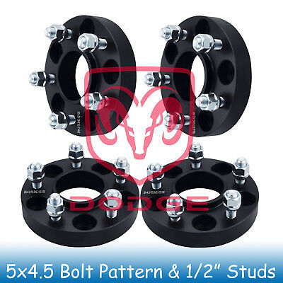 "(4pc)1"" Wheel Spacers 5x4.5 for Taurus 2010 2011 2012 2013 2014 2015 2016 2017"