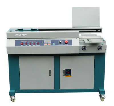 A4 Automatic Perfect Paper Binding Machine With Side Gluing,Unsewn Book Binder