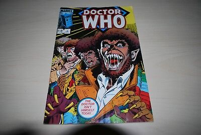 Rare Marvel Comic Doctor Who US Edition 3rd Dec 1980's