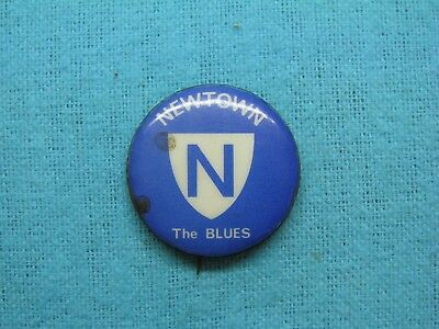 Newtown Blues Rugby League Football Club Tin Back Badge
