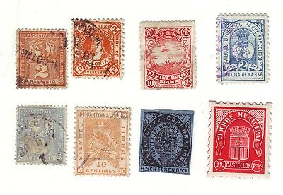 Old World * Local Bob == 8 ==  Foreign  Used&mint Unsorted