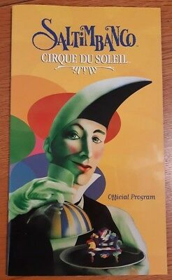 Cirque Du Soleil Saltimbanco Official  Programme and Tickets 1st March 2005