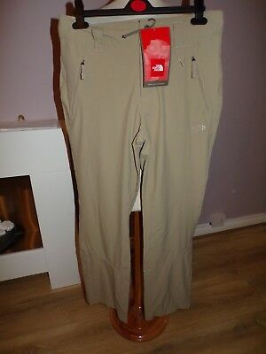 Bnwt Ladies Designer The North Face Trekker Trousers Rrp £75 Uk 12 Reg