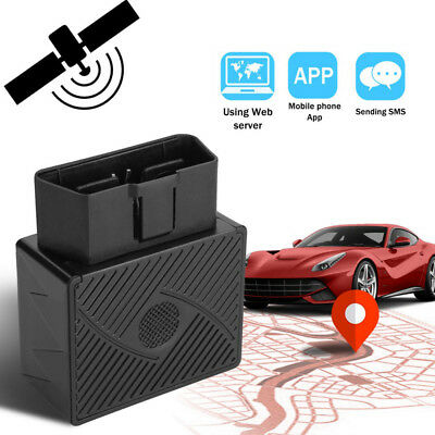OBD II GPS Tracker Real Time Vehicle Tracking Device for Car Truck Locator OBD2/