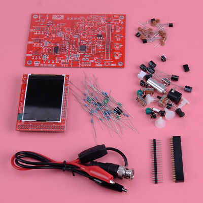 "Assembled DSO138 2.4"" TFT Digital Oscilloscope Probe Kit with 3 Modes"