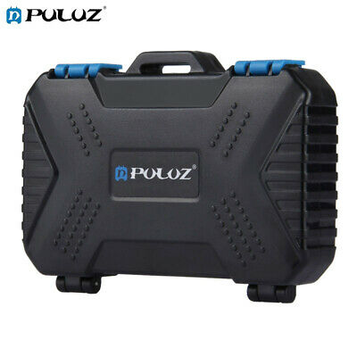 PULUZ Multi Card Reader 22 in 1 Memory Card Case Storage Box for TF / CF / SD