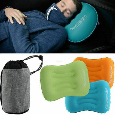 Naturehike Ultralight Portable Air Inflatable Pillow For Hiking Camping Travel~