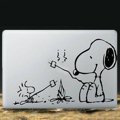 PVC Cute Cartoon Dog Vinyl Decal Skin Laptop Sticker for MacBook Pro Air #LN8