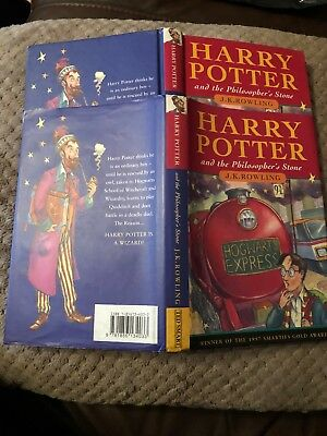 Harry Potter and the Philosophers Stone 1st Edition Hardback 10 9 8 7 6 5 4 3
