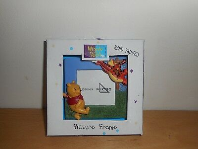 Winnie the Pooh and Tigger 3D Hand Painted Picture Frame.