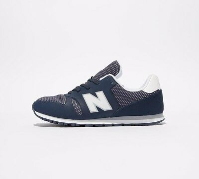 super popular 34202 0ab15 JUNIOR NEW BALANCE 373 Navy/White Trainers (SF32) RRP £34.99